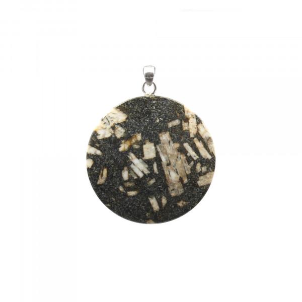 Andesite Porphyry Pendant - Handmade