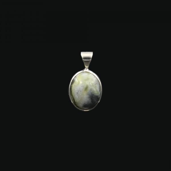 Skye Marble Silver Pendant