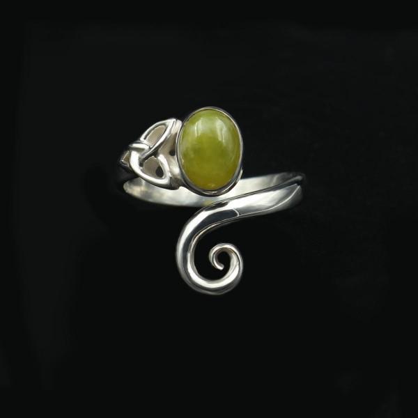 Keltischer Wirbel Ring - Unikat 1