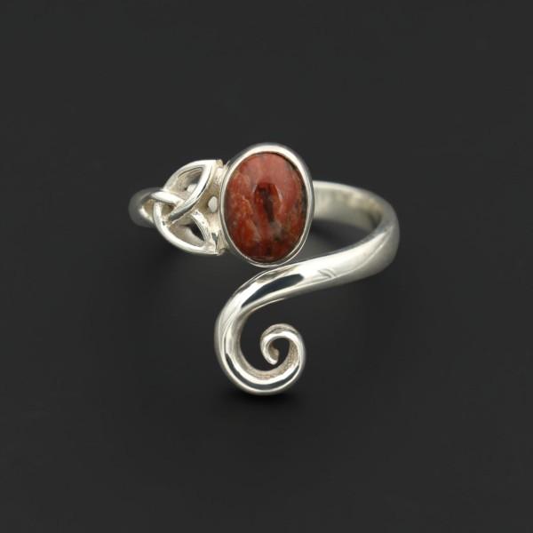 Keltischer Wirbel Ring - Lewisian