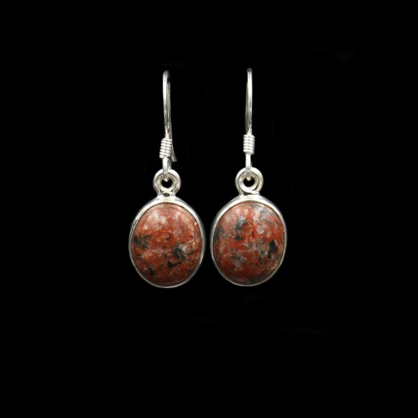 Scottish Lewisian Silver Earrings