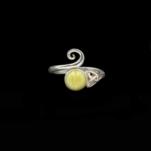 Highland Marmor Keltischer Wirbel Ring