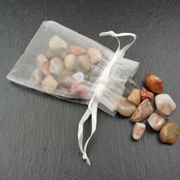 Tumbled Rhine Pebbles Bag