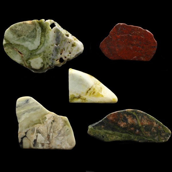 Schottische Steine Sammlung