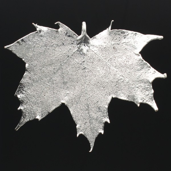 Canadian Maple Leaf - Silver Plated