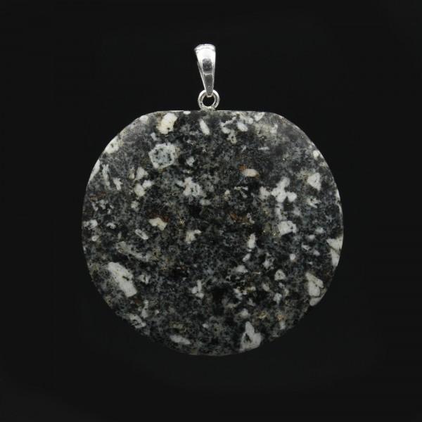 Handmade Andesite Porphyry Pendant