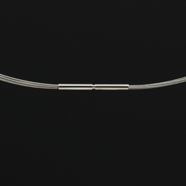 Edelstahlreif - 5 Reihen - Bajonettverschluss
