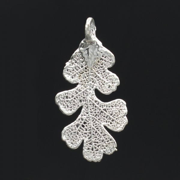 Oak Leaf Pendant - Silver Plated