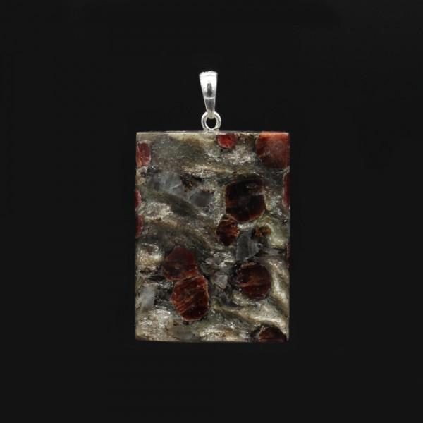 Garnet Mica Schist pendant