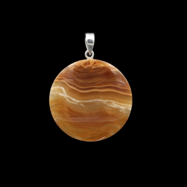 Aragonite / Calcite Pendant - Handmade