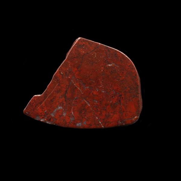 Schottischer Roter Jaspis - Polierte Scheibe