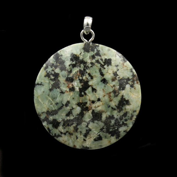 Bavarian Julier Granite Pendant - Handmade