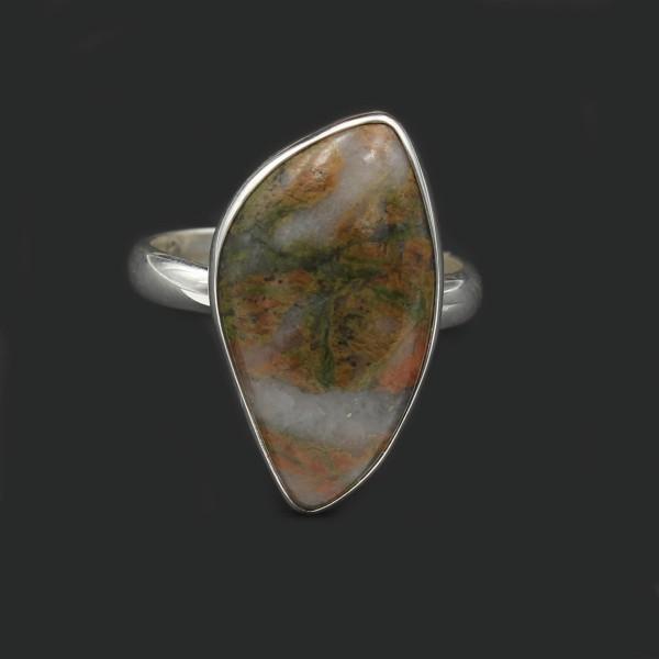 Schottischer Lewisian Ring - Silber - Unikat 2