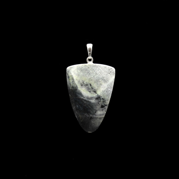 Scottish Skye Marble Pendant - Handmade