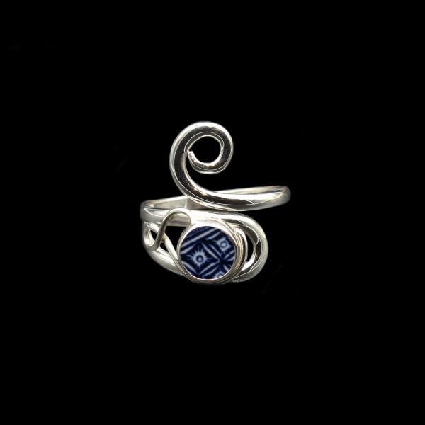 """""""Old Willow"""" Keltischer Wirbel Ring - Verstellbar"""