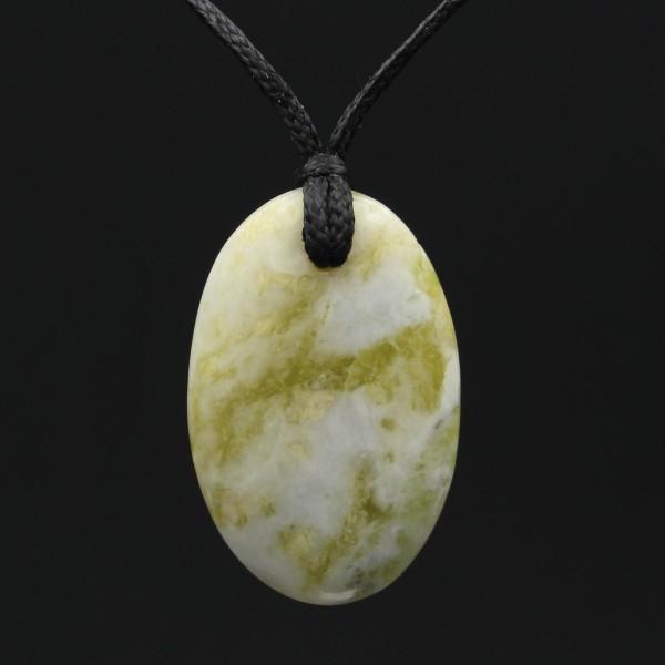 Scottish Iona Marble Stone Pendant