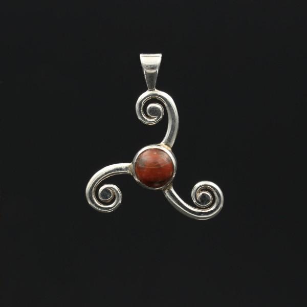 Lewisan Anhänger Keltische Triskele Silber