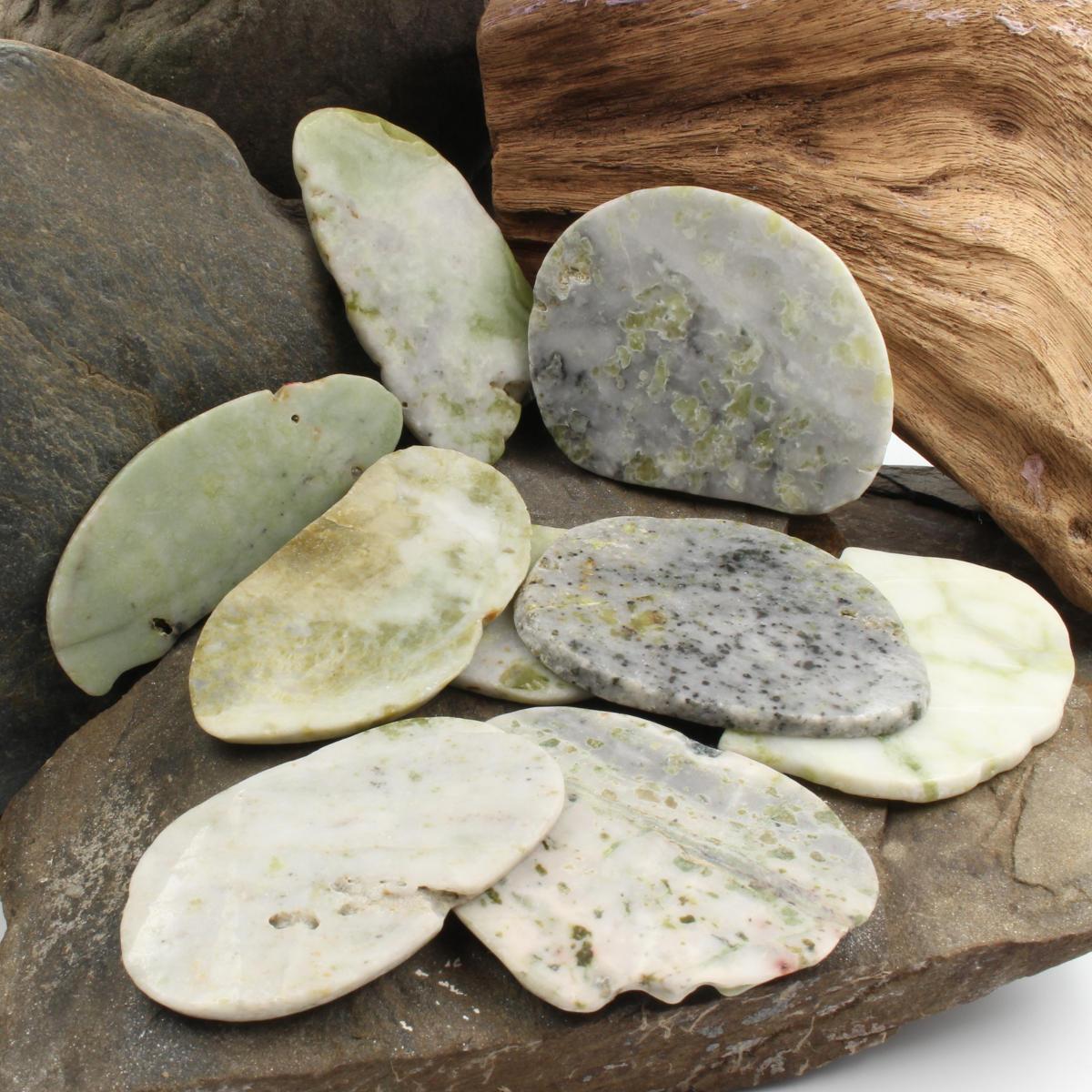 Schottische Iona Marmor Scheiben