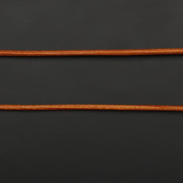 Lederband aus Ziegenleder - Ocker - 1 m