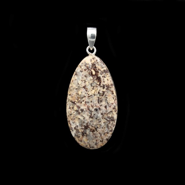 German Granite Pendant - Handmade