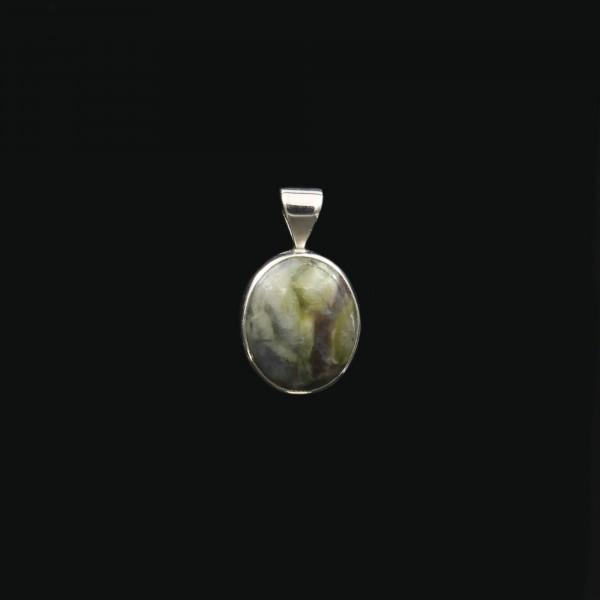 Schottischer Skye Marmor Silber Anhänger